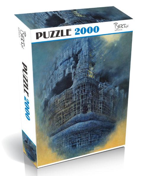Zdzisław Beksiński Puzzle