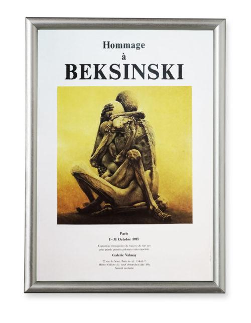 Zdzisław Beksiński afisz wystawy Galerie Valmay