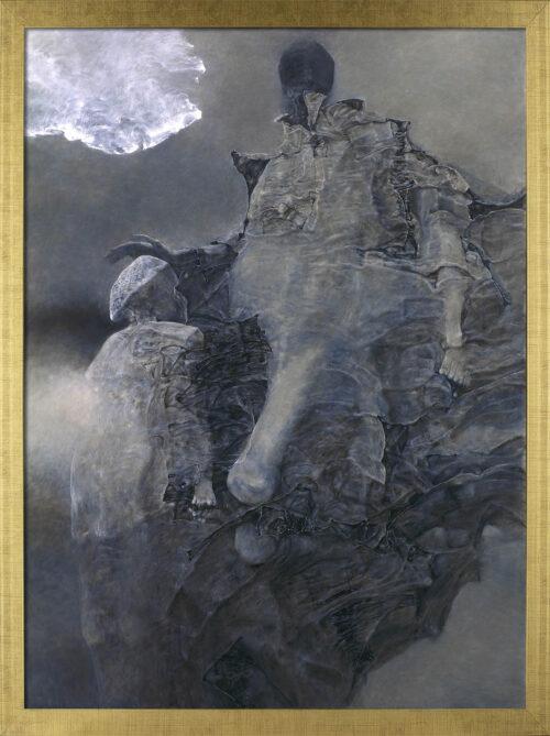 Zdzisław Beksiński - obraz AA96