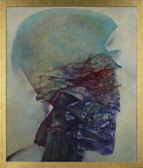 Zdzisław Beksiński obraz AX